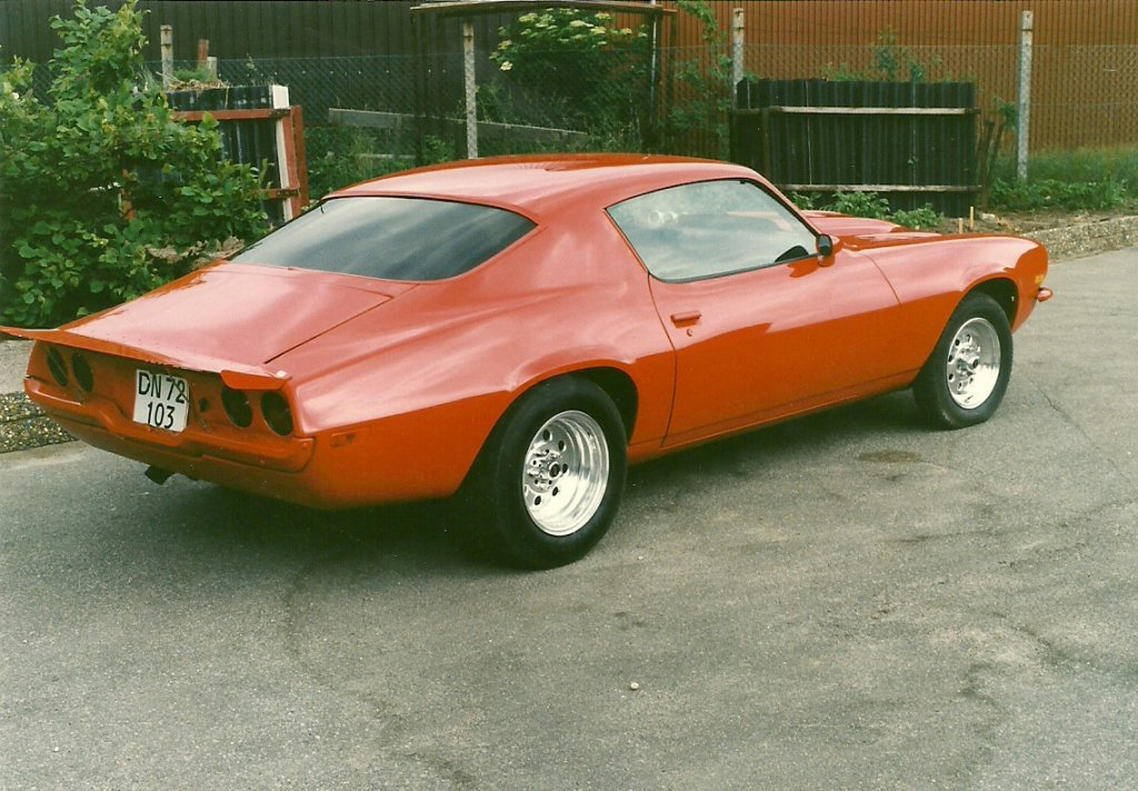 1972 Camaro SS