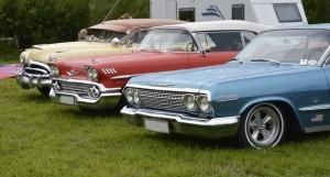 klubbens biler