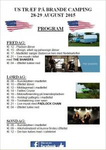 Program Brande Camping 2015