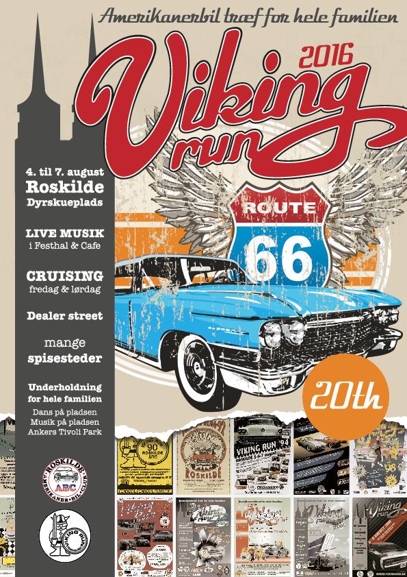 Viking Run Plakat 2016