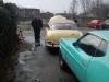 2011-04-20 Årets første vaskedag, og første køretur for Sams....